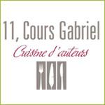11, cours Gabriel - cuisine d'auteurs
